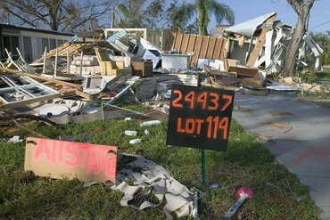 Hurricane Charley struck Florida in 2004