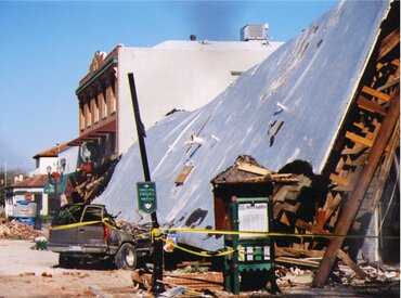 San Simeon Earthquake in 2003